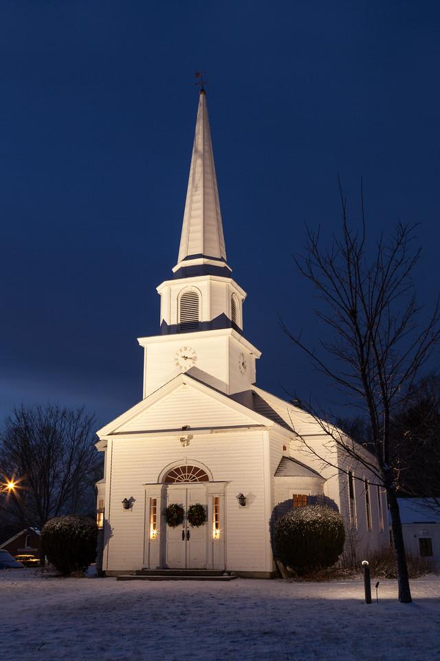 Canterbury Church at Night