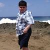 Gene Paul out on the Beach while visiting Grandma & Grandpa in PR