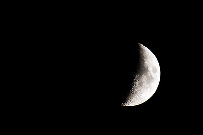 Waxing Crescent @ 37%