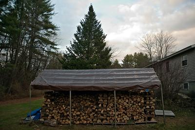 Wood Tent