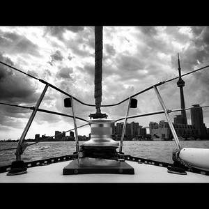 Late summer sailing in Toronto. September 2012.