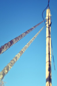 Ice wire. December 2013.