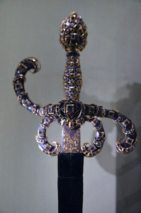 Jewel Inlaid Sword
