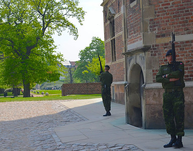Guards at Rosenborg Palace