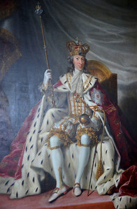 Painting of Royalty at Rosenborg Castle