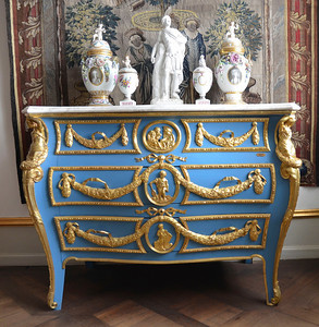 Furniture at Rosenborg Castle