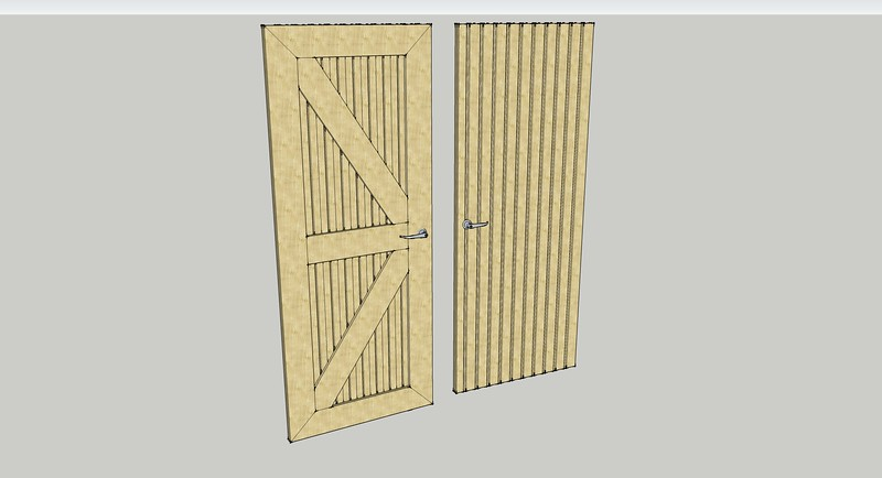 Internal door design