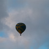 Ballooning popular and they take off from the open areas next to the shopping complex.