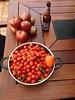 Black & Cherry Tomatoes