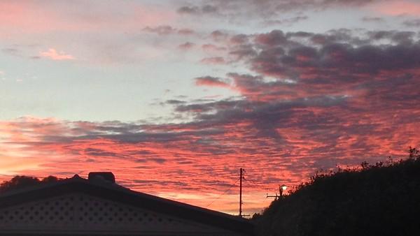 Sunrise May 2016