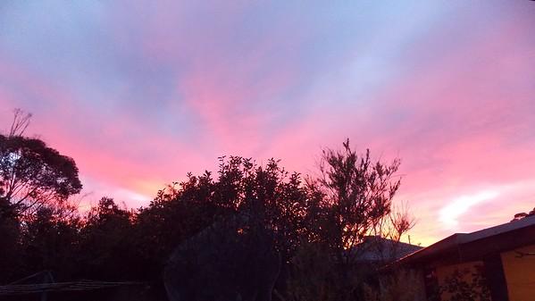 Sunrise in May