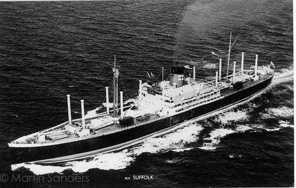 m.v Suffolk 1/8/1966-9/9/1967