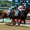 Songbird with Mike Smith wins the Ogden Phipps (G1) <br /> Dave Harmon Photo