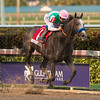 Arrogate with  Mike Smith u Wins the Pegasus Stakes  @ Gulfstream Park  Jan 28   2017;