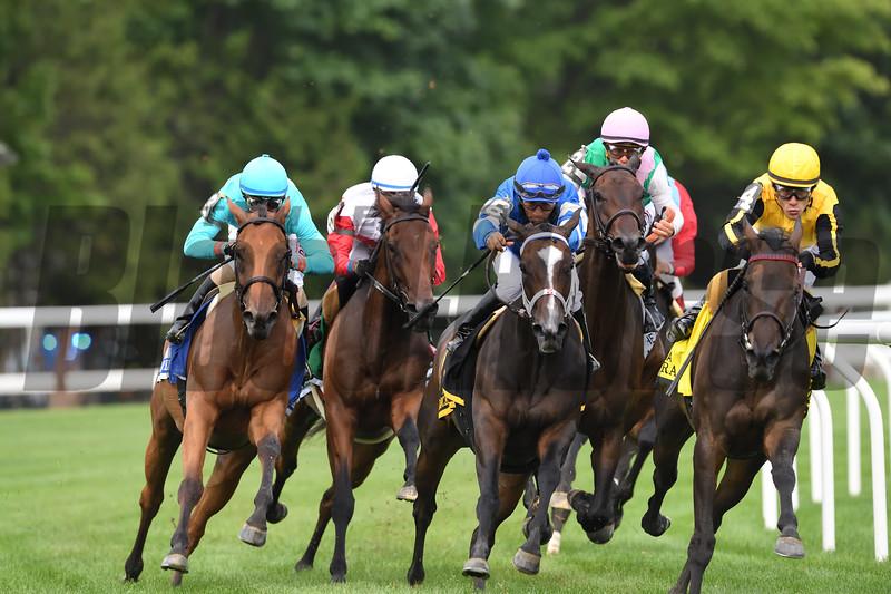 Lady Eli wins the 2017 Diana Stakes<br /> Coglianese Photos/Rob Mauhar
