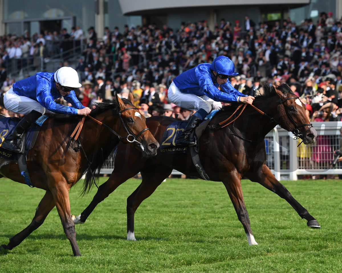 Sound and Slience, William Buick, Win the Windsor Castle Stakes Royal Ascot, Ascot, UK 6/20/17, photo by Mathea Kelley
