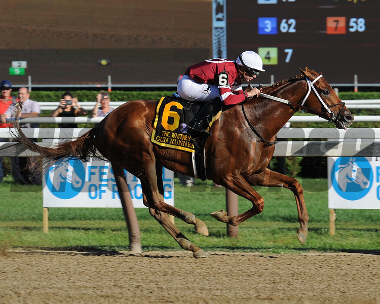 Gun Runner wins the 2017 Whitney<br /> Coglianese Photos/Jamie Coulter