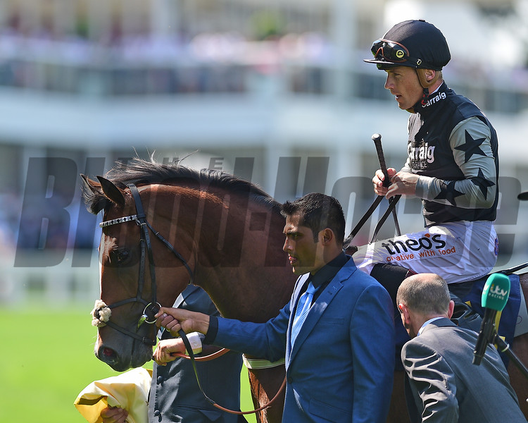 Rajasinghe wins the 2017 Coventry Stakes<br /> Mathea Kelley Photo