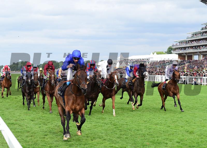 Rare Rhythm and William Buick win the Duke of Edinburough Stakes, Royal Ascot, Ascot, UK, photo by Mathea Kelley 6/23/17