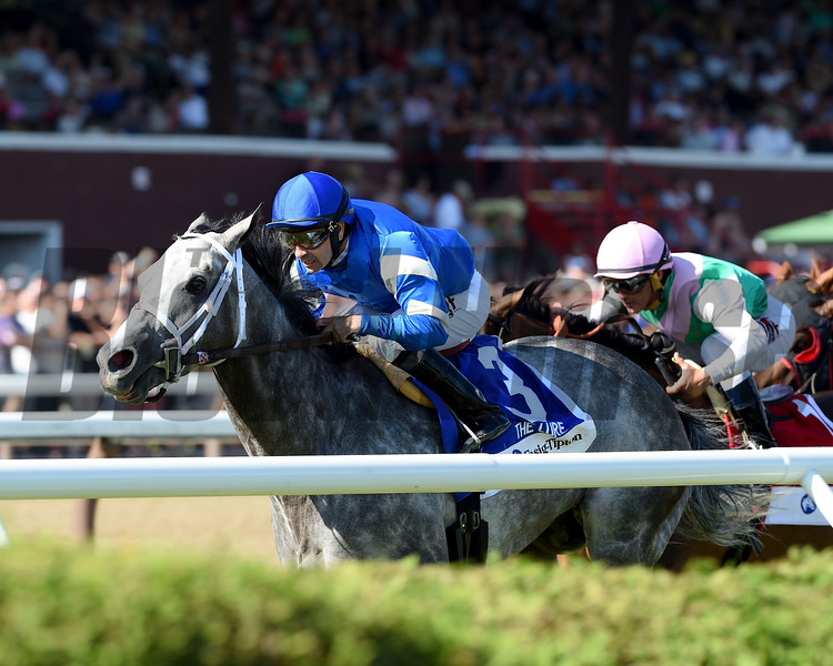 Zennor wins the 2017 Fasig-Tipton Lure Stakes<br /> Coglianese Photos/Chelsea Durand