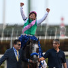 Arrogate wins the 2017 Pegasus World Cup<br /> Coglianese Photos/Andie Biacone