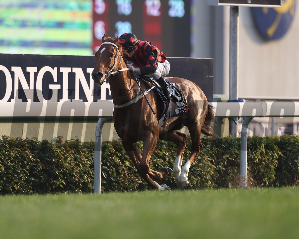 Time Warp; Zac Purton; Longines Hong Kong Cup; G1; Sha Tin Racecourse; December 10 2017