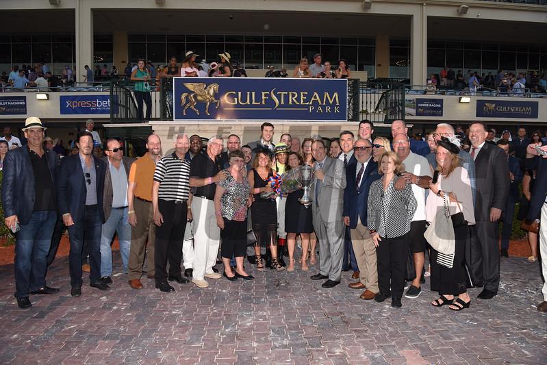 Always Dreaming wins the 2017 Florida Derby<br /> Coglianese Photos