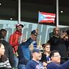 Caribbean, flags, crowd, scene, Gulfstream Park, December 9 2017