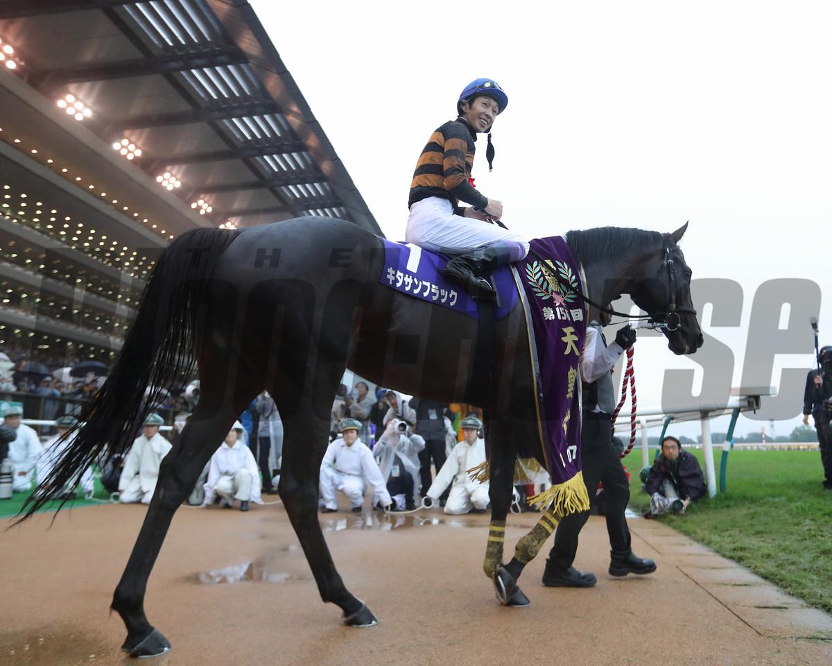 Kitasan Black, Tenno Sho Autumn, G1, Tokyo Racecourse, October 29 2017