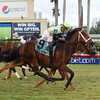 Flatlined wins the 2017 Ft. Lauderdale Stakes<br /> Coglianese Photos/Leslie Martin