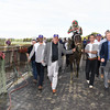 Firenze Fire wins the 2017 Champagne Stakes<br /> Coglianese Photos