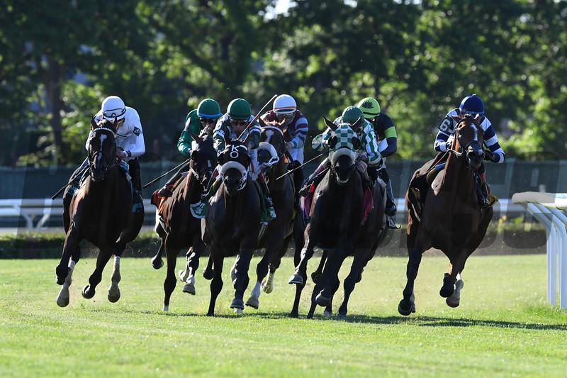 Oscar Performance wins the 2017 Pennine Ridge Stakes<br /> Coglianese Photos/Robert Mauhar