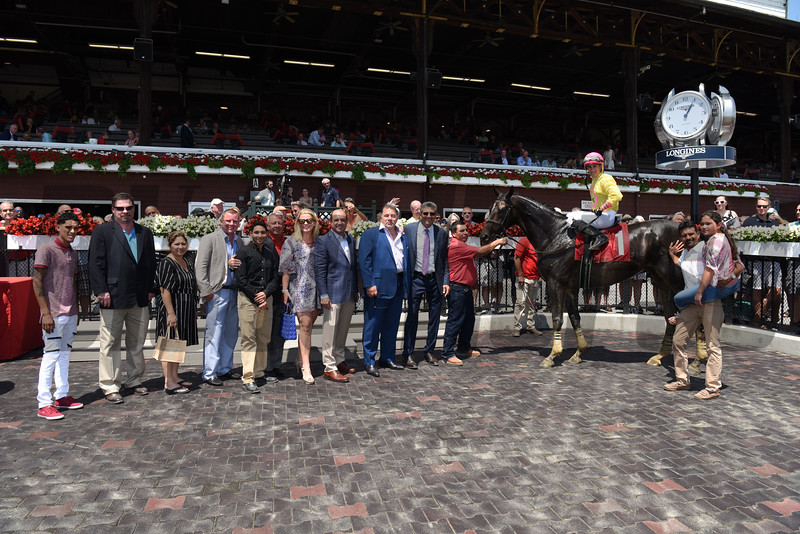 First Race at Saratoga 2017, July 21, 2017<br /> Won by Indycott over River Date<br /> Coglianese Photos