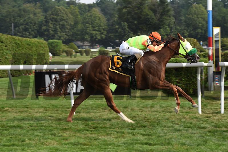 Lover's Key wins the 2017 New York Stallion Series Stakes<br /> Coglianese Photos