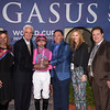 Taghleeb wins the 2017 W. L. McKnight Handicap<br /> Coglianese Photos