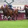 Rhododendron and Seamie Hefferman win the Prix De L'Opera Longines,  Chantilly Race Course, Chantilly France, photo by Mathea Kelley
