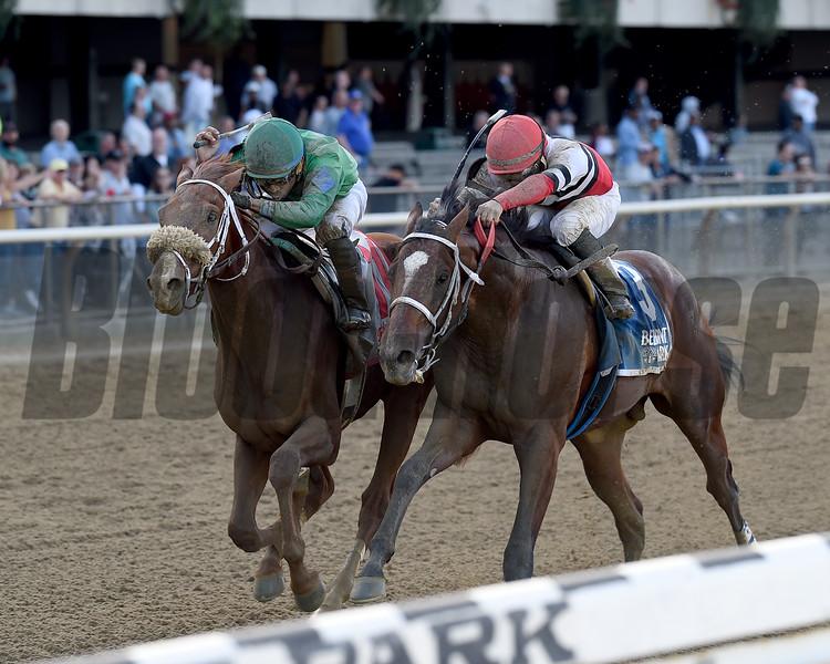 Evaluator wins the 2017 Sleepy Hollow Stakes<br /> Coglianese Photos/Chelsea Durand
