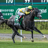 Ascend with jockey Jose Ortiz aboard wins the 116th running of The Woodford Reserve Manhattan G1 at Belmont Park June 10, 2017 in Elmont, N.Y.  Photo by Skip Dickstein