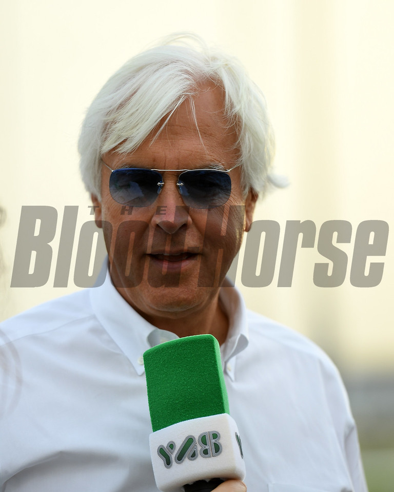 Dubai World Cup -Morning works 3/22/17, photo by Mathea Kelley/Dubai Racing Club Bob Baffert