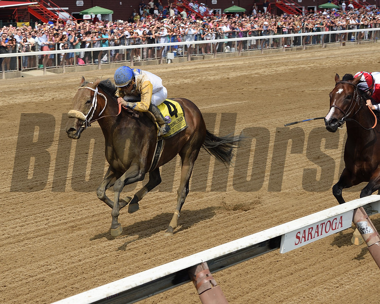 Forever Unbridled wins the 2017 Personal Ensign<br /> Coglianese Photos/Chelsea Durand