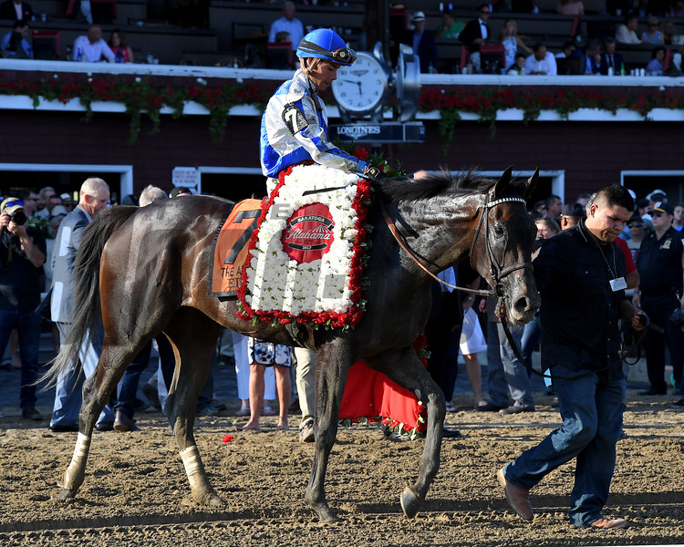 Elate wins the 2017 Alabama<br /> Coglianese Photos/Joe Labozzetta
