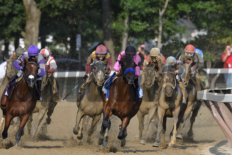West Coast wins the 2017 Travers<br /> Coglianese Photos/Arianna Spadoni