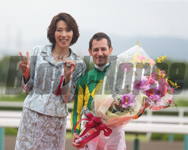 Takarazuka Kinen (G1)<br /> <br /> Winner:Satono Crown (JPN)<br /> <br /> Date:Sunday, 25 June  2017<br /> <br /> Distance:2200m,Turf/about 11furlongs<br /> <br /> Racecourse:Hanshin Racecourse<br /> <br /> Qualification to Run:3yo&up<br />  <br /> Weight:3yo 53Kg/4yo+58Kg<br />  <br /> Allowance:Fillies&Mares/2Kg<br /> Southern Hemisphere Bred Born in 2013/1Kg,2014/3Kg<br />  <br /> Total Value:¥325,000.000 (about US$ 2,826,000)<br /> <br /> Prize Money for the Winner:¥150,000,000 (about US$ 1,304,000)<br /> <br /> Course Condition:Turf Good ,Cloudy<br /> <br /> 1st-11.Satono Crown.(JPN)2 :11.4<br /> <br /> 2nd-2.Gold Actor.(JPN)  3/4<br /> <br /> 3rd-8.Mikki Queen. (JPN) 1 1/2<br /> <br /> 4th-6.Sciacchetra(JPN) 1 3/4