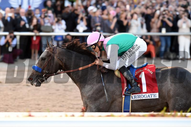 Arrogate wins the 2017 Pegasus World Cup<br /> Coglianese Photos/Lauren King
