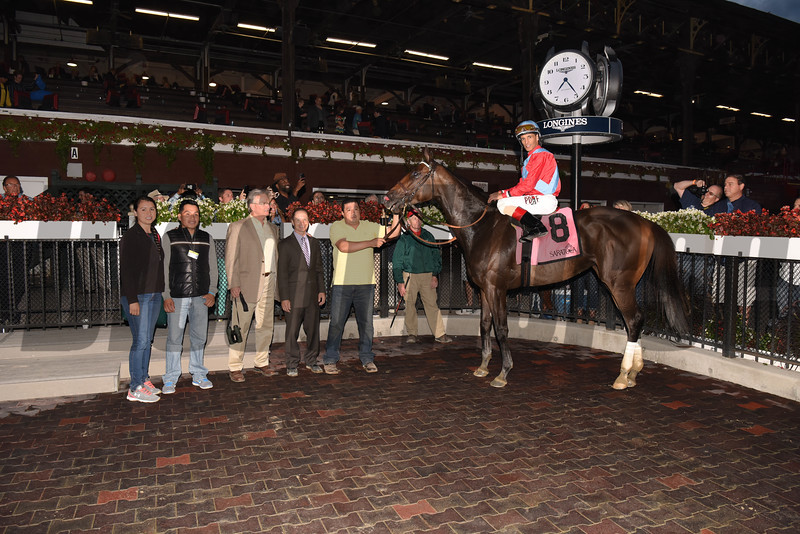 Harmonize wins the 2017 Glens Falls Stakes<br /> Coglianese Photos