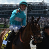 Roca Rojo wins the Churchill Distaff Turf Mile<br /> Dave Harmon Photo