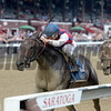 Carina Mia wins the 2017 Shine Again Stakes
