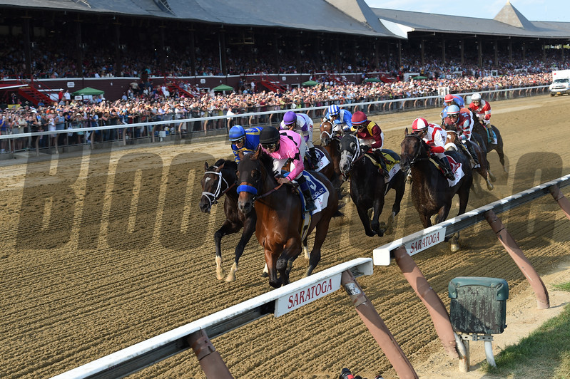 West Coast wins the 2017 Travers<br /> Coglianese Photos/Chelsea Durand