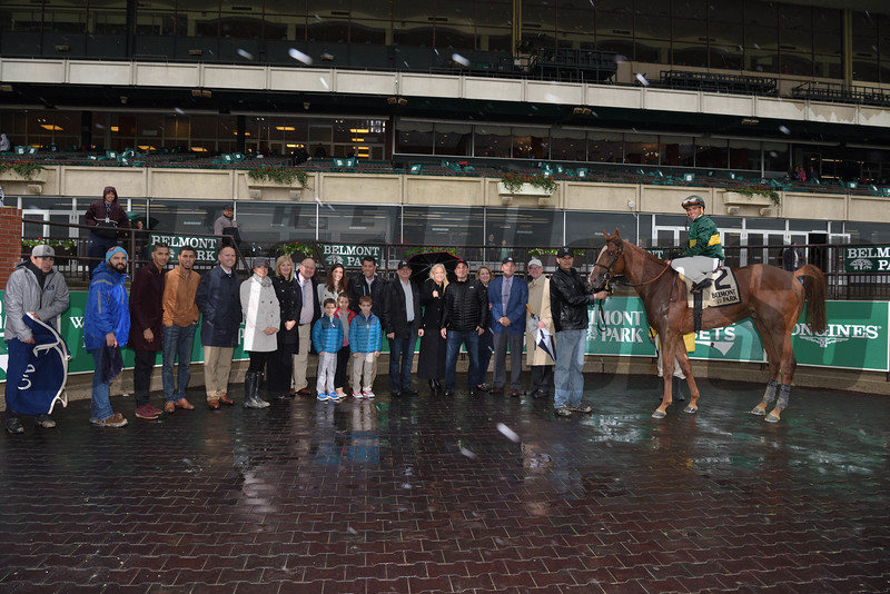 Timeline wins the 2017 Peter Pan Stakes<br /> Coglianese Photos