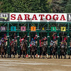 The start of the 148th running of the Travers Stakes at the Saratoga Race Course in Saratoga Springs, N.Y.  (Skip Dickstein